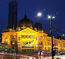 Flinders Station Melbourne by KyungNa