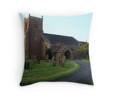 St Mary's Church side on Throw Pillow