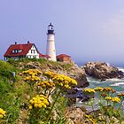 Portland Head Light by quiltmaker