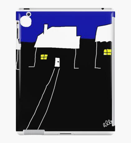 A nice night in suburbia iPad Case/Skin