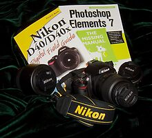 My camera and lenses by hanne