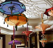 Asian Chandeliers Las Vegas by Marjorie Wallace
