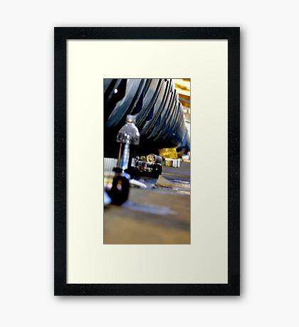 Trash- Yankee Stadium Framed Print