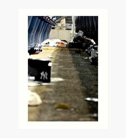 Trash 2- Yankee Stadium  Art Print