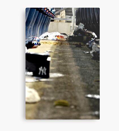 Trash 2- Yankee Stadium  Metal Print