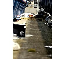 Trash 2- Yankee Stadium  Photographic Print