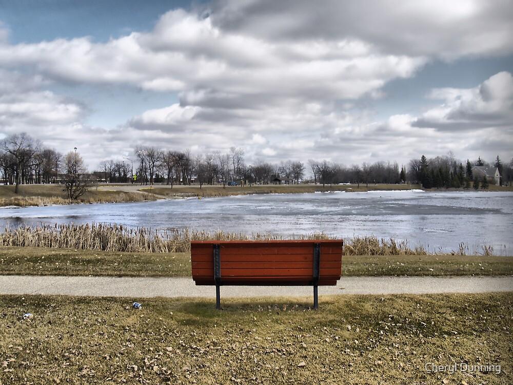 relaxing spot by Cheryl Dunning
