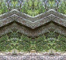Mirrored Rocks by Matthew Walmsley-Sims