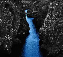Þingvellir national park, iceland by gary roberts