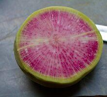 Watermelon Radish  by jwilsonholmes