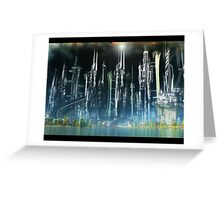 the city of hope v1 Greeting Card