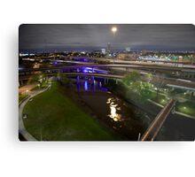 Houston highways Metal Print