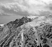 At the Top of the World - Mt Washington, NH by bengranlund