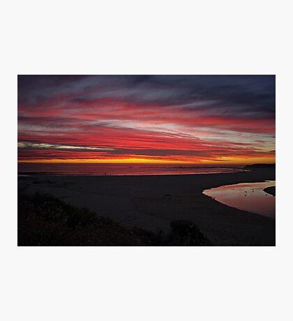 Beautiful sunset,Margaret river,W.A,Australia Photographic Print