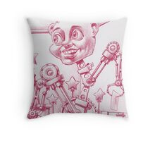 Machine Head Throw Pillow
