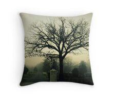 St. Andrews Cemetery Throw Pillow