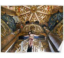 Jesus . Convento de Cristo Poster