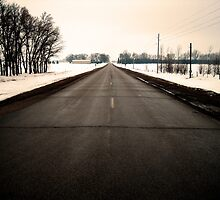 Road to Town by John Laubach