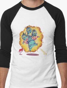 3 Headed Monster Men's Baseball ¾ T-Shirt