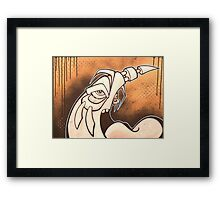 BACKAROUND Framed Print