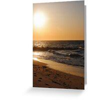 Sunset Beach... Greeting Card