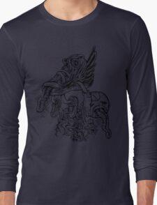 Shoe Flying Long Sleeve T-Shirt