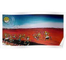 Camel Races, Boulia Poster