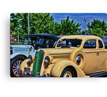 Plymouth Automobile Canvas Print