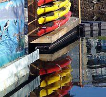 Kayaks by Jann Ashworth