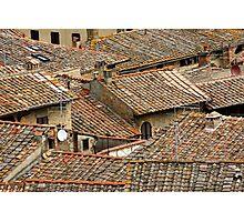 Tuscan Geometry Photographic Print