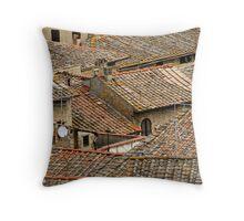 Tuscan Geometry Throw Pillow