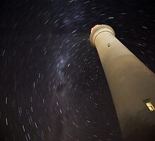 Startrails at Split Point by morealtitude