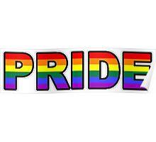 PRIDE | GAY MARRIAGE | RAINBOW Poster