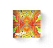 Tropical Sunset 01 Acrylic Block