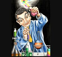 Mr Bean reaches for an explosive solution to his sticky refridgerator door. Unisex T-Shirt