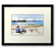 Artist's View, Altona Framed Print