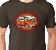 Bay Window Campervan Sunburst Unisex T-Shirt