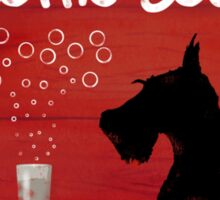 Scottie Dog 'Scottie & Soda' Sticker
