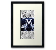 Composition With Echoed/Mirrored Images – March 24, 2010 Framed Print