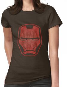 Automaton red retro Womens Fitted T-Shirt