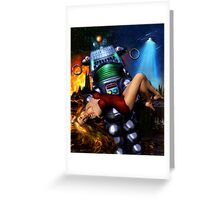 Lust in Space Greeting Card