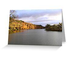 Murray River Greeting Card