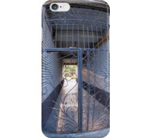 The entrance to the apartment building iPhone Case/Skin