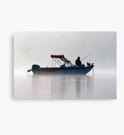 Have You Taken Your Boss Fishing Lately? Canvas Print
