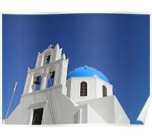 Chapel, Oia, Santorini Poster