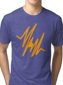 Orange Pulse Tri-blend T-Shirt