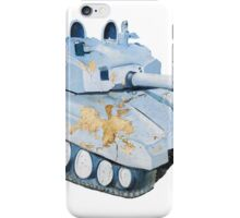 Indian Army Tank Wall Art iPhone Case/Skin