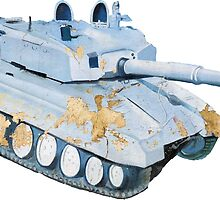 Indian Army Tank Wall Art by rooosterboy