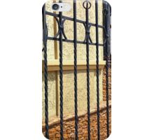 Detail of the facade of a beautiful building iPhone Case/Skin