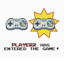 Player 2 has entered the game! by JackBiagini